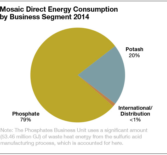 mosaic energy consumption by business segment 2014