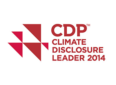 cdp climate disclosure leader 2014 logo