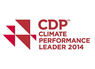cdp climate performance leader 2014 logo